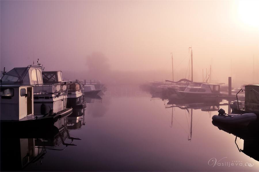 Sunrise Mist by CristaliaART