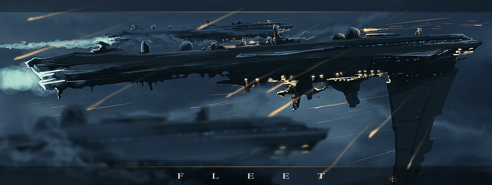 ::FLEET:: speedpaint by sangheili117