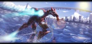 Ninja speedpaint by sangheili117