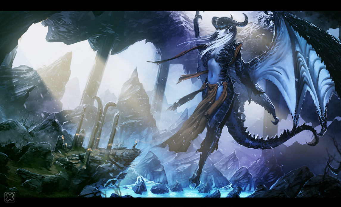 ::The Ice Demon:: by sangheili117