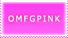 Pink stamp is pink by AwsumZ