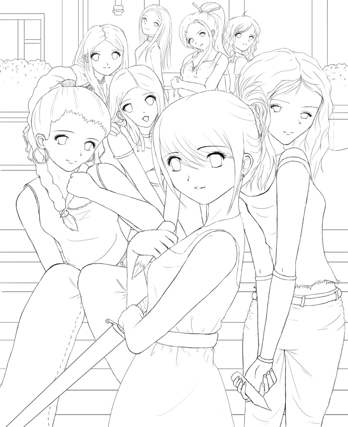 Buffy coloring pages coloring pages for Buffy coloring pages
