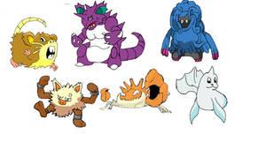 Marriland's Pokemon HeartGold Wedlocke full team.