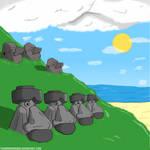 Easter Island - Pokemon version