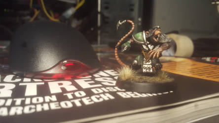 nearly finished skavenblight player by lstowe