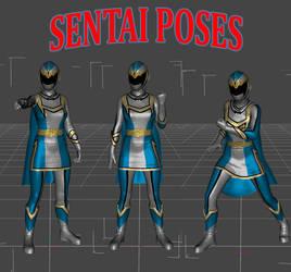 Sentai PATREON patreon reward (April2019) by lstowe
