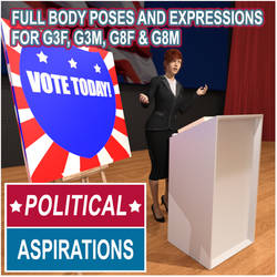 political aspiration poses for G8F G8M G3F G3M by lstowe