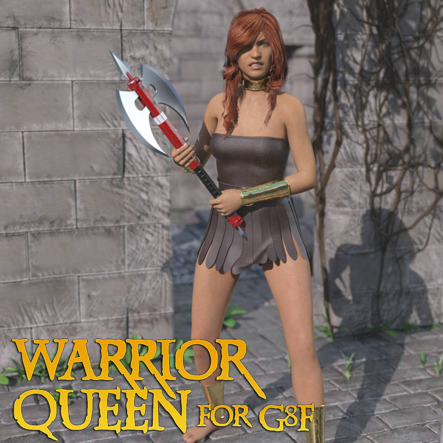 Warrior Queen for G8F by lstowe