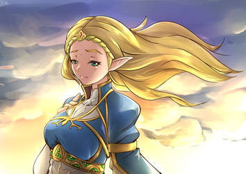 Princess Zelda by ChronicRift