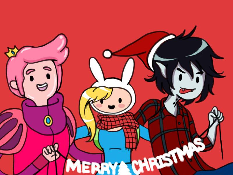 Merry Adventure Christmas by pinkystrawberricutie