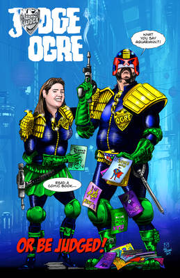 Judge Ogre - Ogre's Grove Comic Book Store, Milton