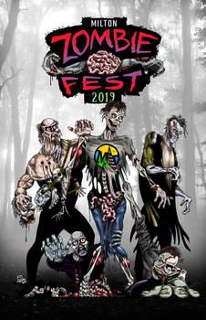 Milton (DE) Zombie Fest 2019 Poster