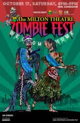 Milton (DE) Zombie Fest 2020 Feature Poster