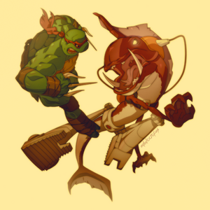 Raph and Fishface