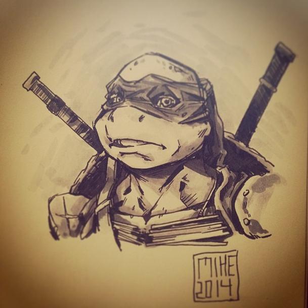 Leonardo by Mikuloctopus