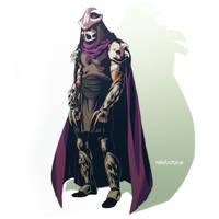 Shredder by Mikuloctopus