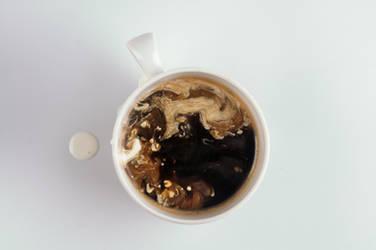 Coffee with cream by buzillo-stock