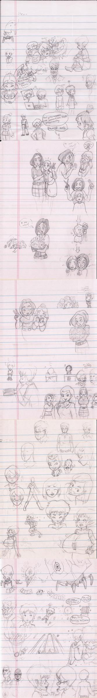 Doodle Dump (January 2015) by Zcmrrd