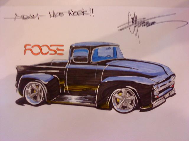 Chip Foose autograph b...