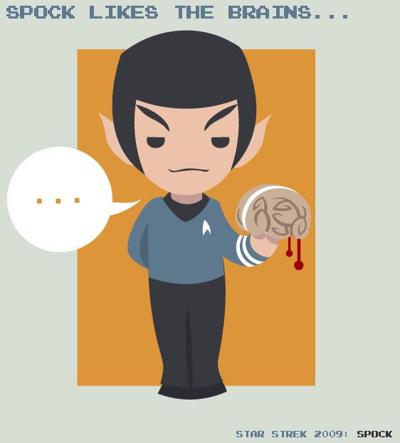 Star Trek - Spock by SaG82