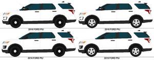 2016 Ford Police Interceptor Utilitys