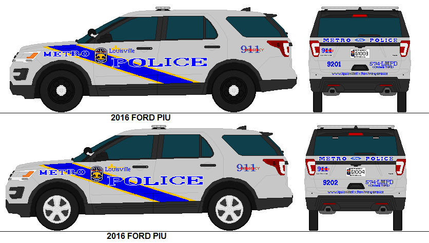 Louisville ky Metro Police 2016 Ford Pius by PRPFD2011 on
