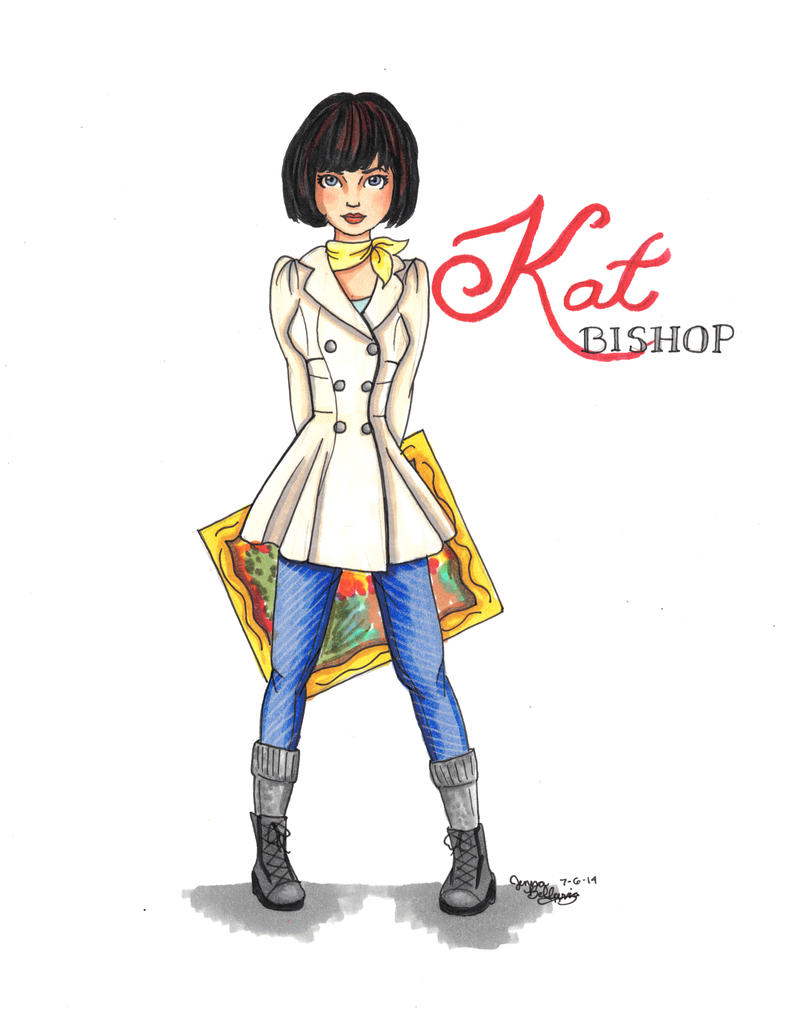 Kat Bishop - Heist Society by kt-grace
