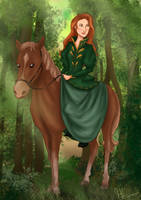 Forest Rider by kt-grace