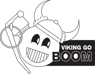 Viking Go Boom by Electric-Mind