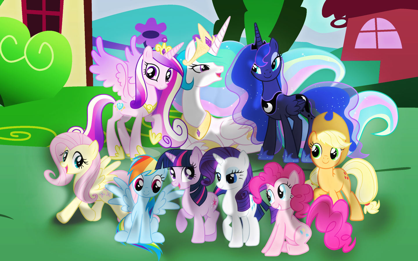 My Little Pony Friendship Is Magic Wallpaper By Rainbowicescream