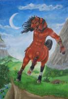 Horse taur by A-shanti