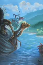 Lagoon Dragon by A-shanti