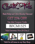 Chaotik Falls Black Friday Cyber Monday Promo 2013