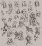 sketch dump-shaman king