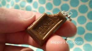 Hershey's Chocolate Bitten Necklace