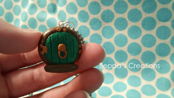 Hobbit Door Charm by BeppasCreations ... : door charm - Pezcame.Com