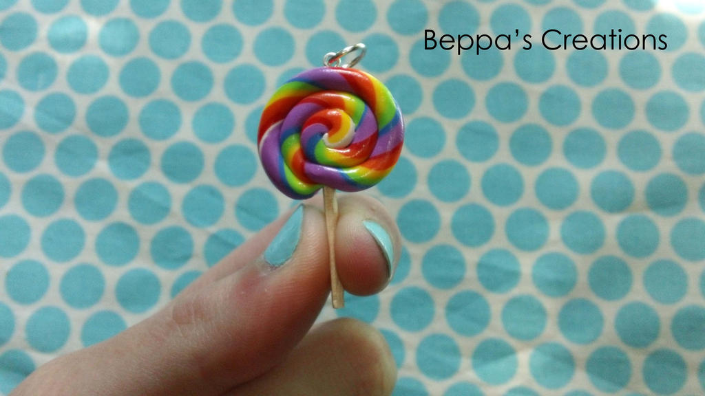 Lollipop Charm by BeppasCreations