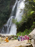 What a lovely waterfall by yagyag