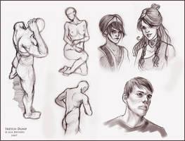 Sketch Dump II by asa-bryndis
