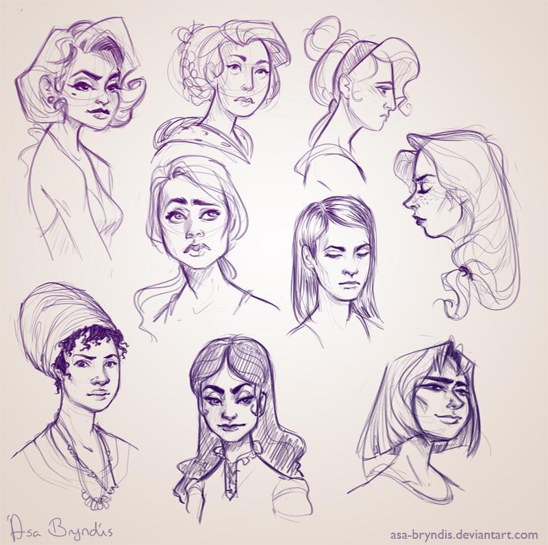 Sketch Dump VI by asa-bryndis