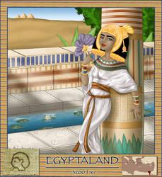Alphabet series: Egypt by asa-bryndis