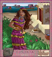 Alphabet series: Phoenicia by asa-bryndis