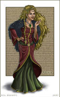 Freyja by asa-bryndis