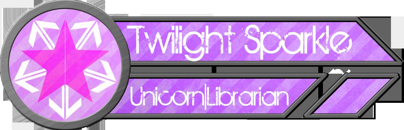 Metal Tag - Twilight Sparkle by blazeLimit