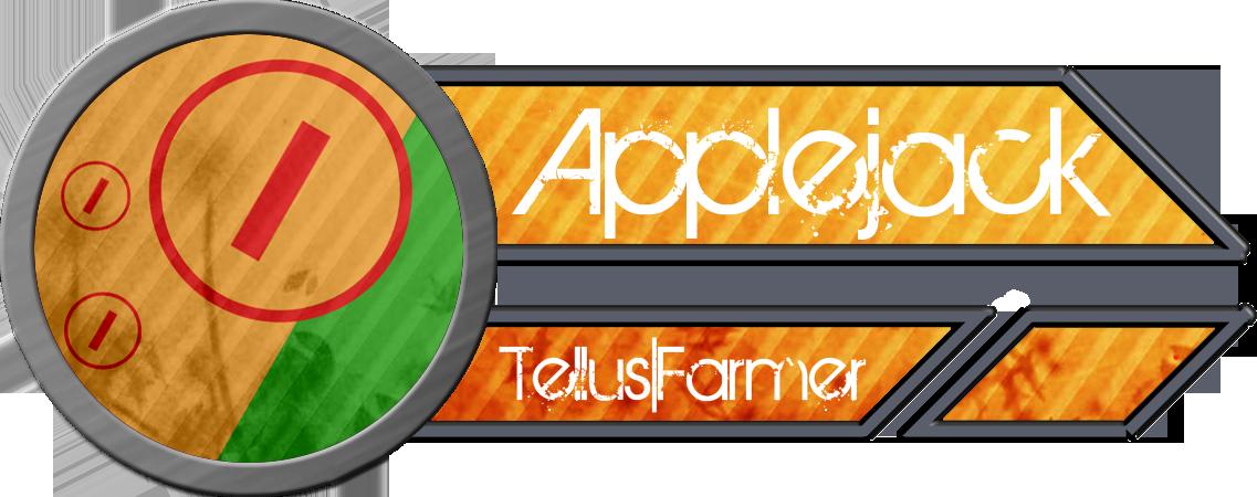 Metal Tag - Applejack by blazeLimit