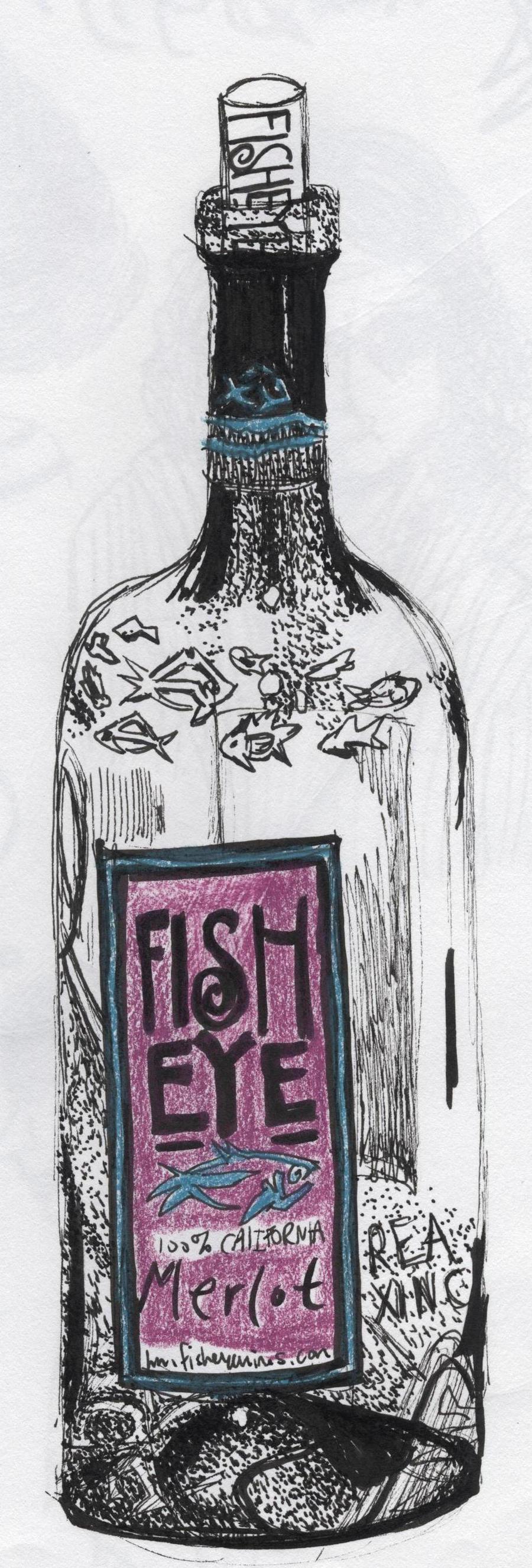 Fish eye wine by xessentax on deviantart for Fish eye wine