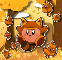 Autumn Tanuki by riodile
