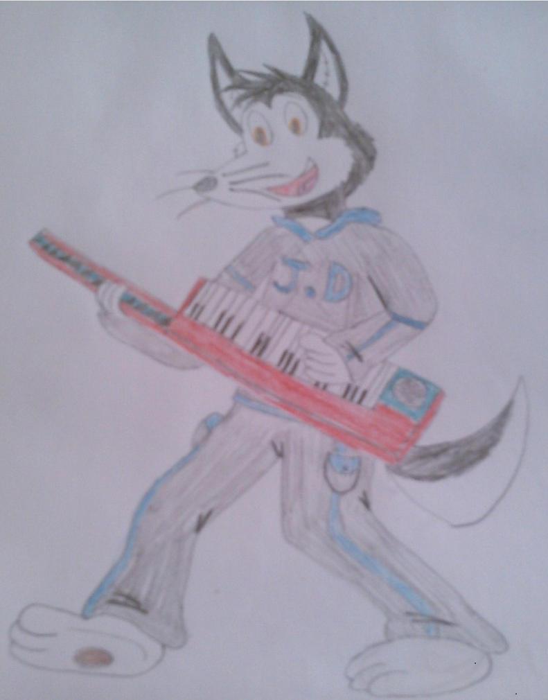 Husky Keytar by s0undw4v3ultra02