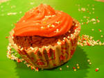 Pink cup cake temptation