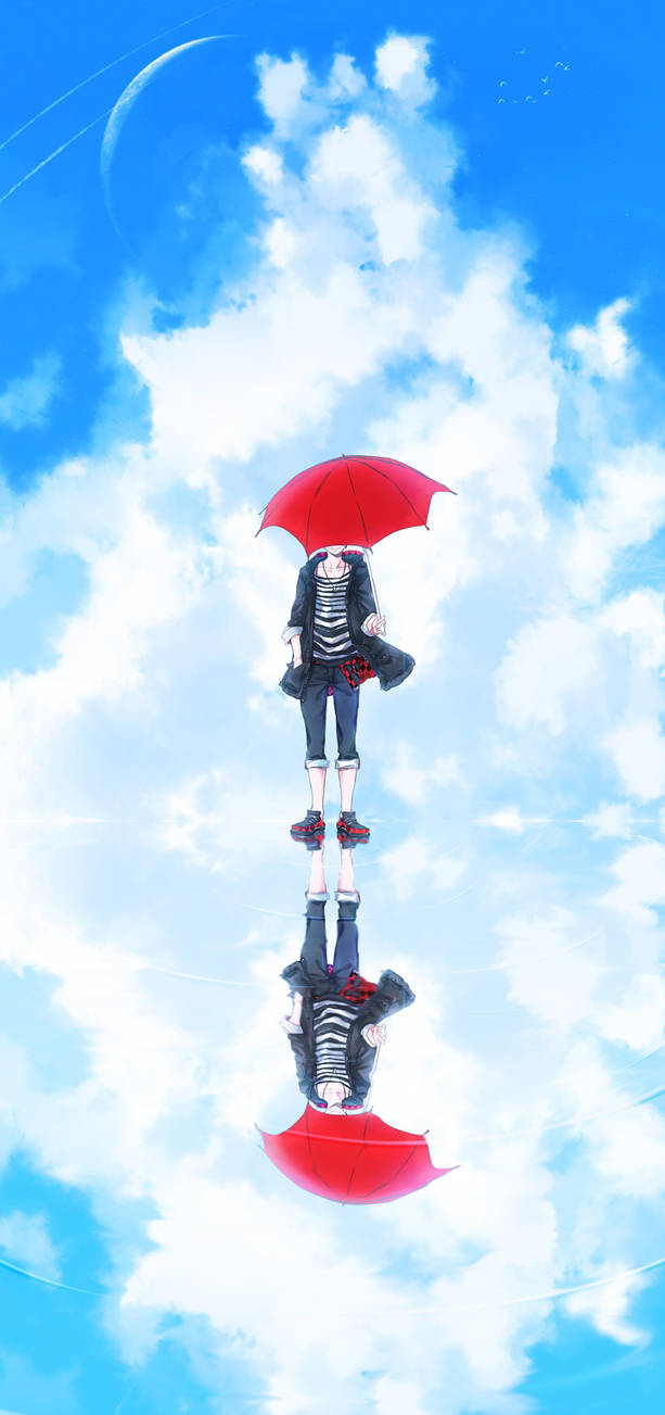 Red Umbrella by zearyu